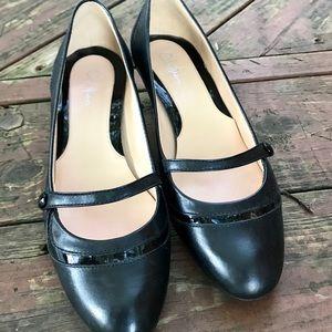 Cole Haan Mary Jane, Black, Kitten Heel, Size 7